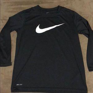 Boys Nike dri-fit long sleeve